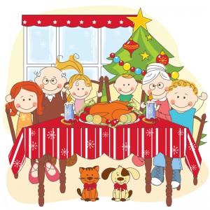 december juleaften familiehygge