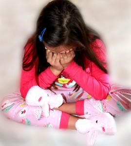 Hjælp. Vores datter har det svært i januar 1